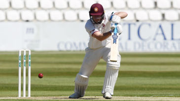 Alex Wakely has put Northants in a strong position