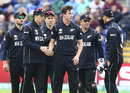 Adam Milne picked up his second wicket with a slower ball, England v New Zealand, Champions Trophy 2017, Cardiff, June 6, 2017