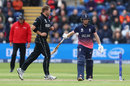 Corey Anderson had Eoin Morgan caught feathering behind, England v New Zealand, Champions Trophy 2017, Cardiff, June 6, 2017