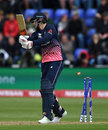 Joe Root inside-edged onto his own stumps for 64, England v New Zealand, Champions Trophy 2017, Cardiff, June 6, 2017