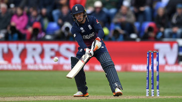 Jos Buttler ramped an extraordinary six en route to a quickfire fifty