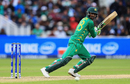 Shoaib Malik steers one through the off side, Pakistan v South Africa, Champions Trophy, Group B, Edgbaston, June 7, 2017