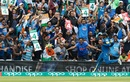 Nuwan Pradeep runs into a sea of Indian support, India v Sri Lanka, Champions Trophy 2017, The Oval, London, June 8, 2017