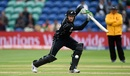Martin Guptill demonstrates a square drive, New Zealand v Bangladesh, Group A, Champions Trophy 2017, Cardiff, June 9, 2017