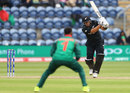 Ross Taylor makes a loud call after driving into the off side, New Zealand v Bangladesh, Group A, Champions Trophy 2017, Cardiff, June 9, 2017