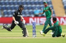 Shakib Al Hasan catches Kane Williamson short, New Zealand v Bangladesh, Group A, Champions Trophy 2017, Cardiff, June 9, 2017