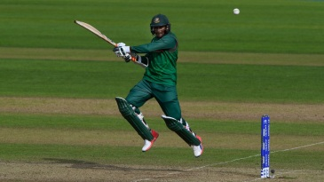 Shakib goes airborne and cuts