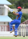 Javed Ahmadi found a lot of runs square of the wicket, West Indies v Afghanistan, 1st ODI, St Lucia, June 9, 2017