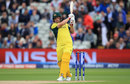 Aaron Finch swings down the ground, England v Australia, Champions Trophy, Group A, Edgbaston, June 10, 2017