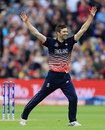 Mark Wood had Glenn Maxwell caught on the boundary, England v Australia, Champions Trophy, Group A, Edgbaston, June 10, 2017