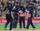 Adil Rashid took two wickets in four balls, England v Australia, Champions Trophy, Group A, Edgbaston, June 10, 2017