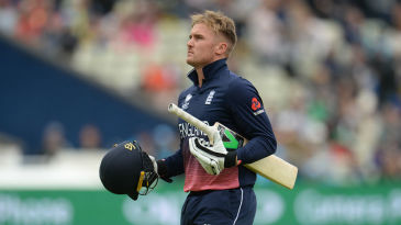Jason Roy's form concerns deepened as he fell second-ball for 4