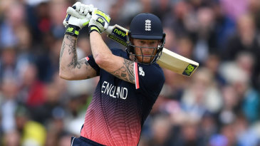 Ben Stokes rampaged to a 39-ball fifty