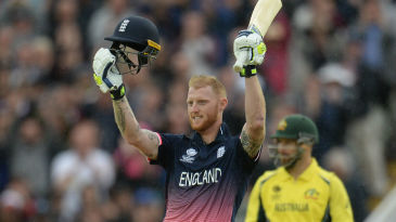 Ben Stokes's century sealed Australia's elimination