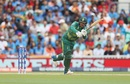 One of the many go to shots for Quinton de Kock, India v South Africa, Champions Trophy 2017, Group B, The Oval, London, June 11, 2017