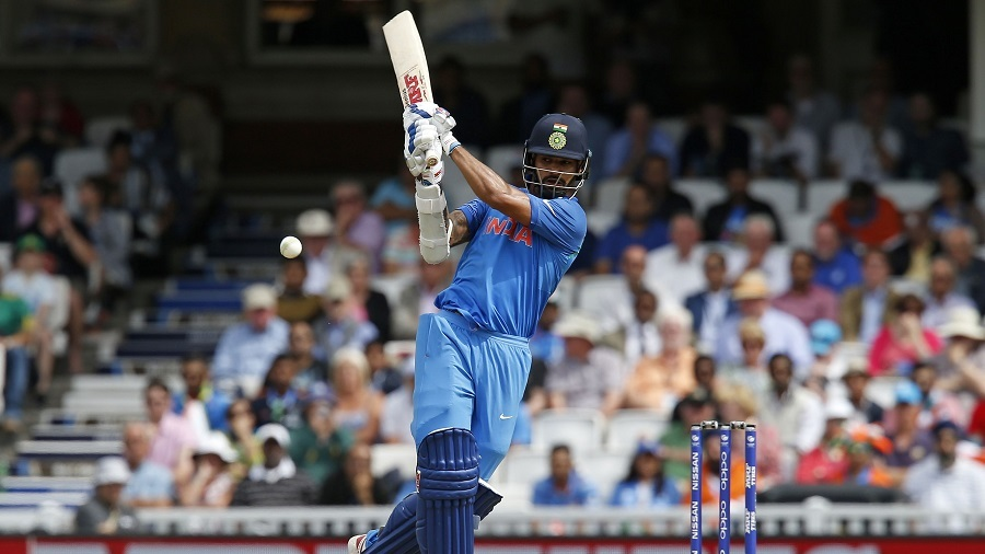 Shikhar Dhawan became the fastest to 1000 runs in ICC tournaments, India v South Africa, Champions Trophy 2017, Group B, The Oval, London, June 11, 2017