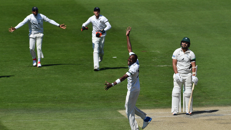 Jofra Archer was in the wickets for Sussex