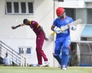 Jason Holder runs out Javed Ahmadi, West Indies v Afghanistan, 2nd ODI, Gros Islet, June 11, 2017