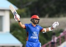 Gulbadin Naib made his third ODI fifty, West Indies v Afghanistan, 2nd ODI, Gros Islet, June 11, 2017