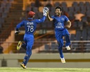 Gulbadin Naib too two wickets, West Indies v Afghanistan, 2nd ODI, Gros Islet, June 11, 2017