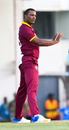 Shannon Gabriel reacts in the field, West Indies v Afghanistan, 2nd ODI, Gros Islet, June 11, 2017