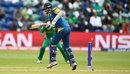 Angelo Mathews plays one onto his stumps, Champions Trophy 2017, Group B, Cardiff, London, June 12, 2017