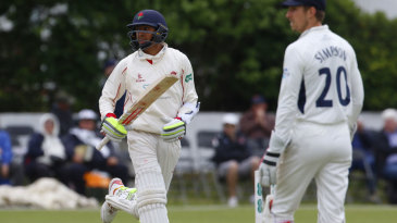 Haseeb Hameed saw Lancashire home in a small chase
