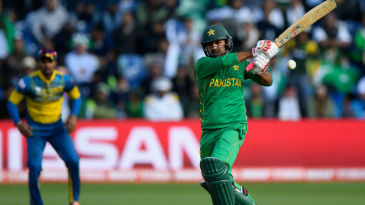 Sarfraz Ahmed's plucky half-century put the pressure back on Sri Lanka