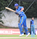 Christi Viljoen flicks through the leg side, Scotland v Namibia, ICC WCL Championship, Edinburgh, June 12, 2017