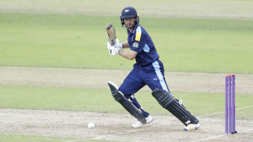 Adam Lyth struck 75 at the start of Yorkshire's reply