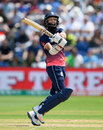 Moeen Ali was caught hooking, England v Pakistan, Champions Trophy, 1st semi-final, Cardiff, June 14, 2017