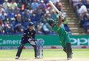 Babar Azam goes down the ground, England v Pakistan, Champions Trophy, 1st semi-final, Cardiff, June 14, 2017