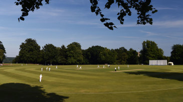 Sussex chose to bat on a glorious day