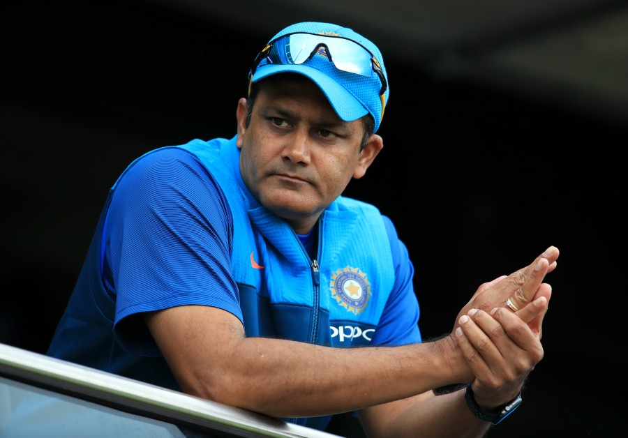 Kumble left after giving 'dressing-down' to player