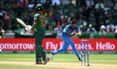 Jasprit Bumrah completes the return catch of Mosaddek Hossain, Bangladesh v India, Champions Trophy 2017, Edgbaston, June 15, 2017
