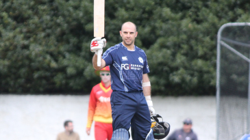 Kyle Coetzer raised his fourth ODI century off 88 balls