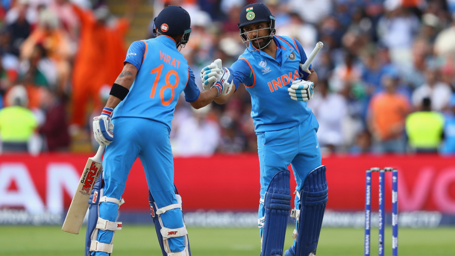 Virat Kohli and Rohit Sharma added an unbroken 178 for the second wicket