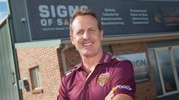 New coach of Queensland Wade Seccombe