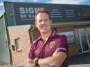 New coach of Queensland Wade Seccombe, Brisbane, June 16, 2017