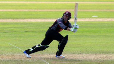 Dean Elgar gave Somerset a flying start