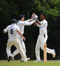 Abidine Sakande claimed three early wickets, Sussex v South Africa A, Tour match, Arundel, 3rd day, June 16, 2017