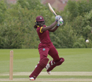 Stafanie Taylor smashes one off the back foot, West Indies Women and India Women, unofficial warm-up game, Leicestershire, June 16, 2017