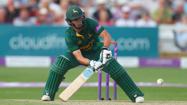 Steven Mullaney in action for Nottinghamshire
