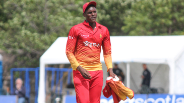 Richard Ngarava conceded the joint second-most expensive ODI figures by a Zimbabwean with 1 for 96
