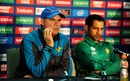 The coach Mickey Arthur addresses the media ahead of Pakistan's Champions Trophy final against India at The Oval, London, June 17, 2017