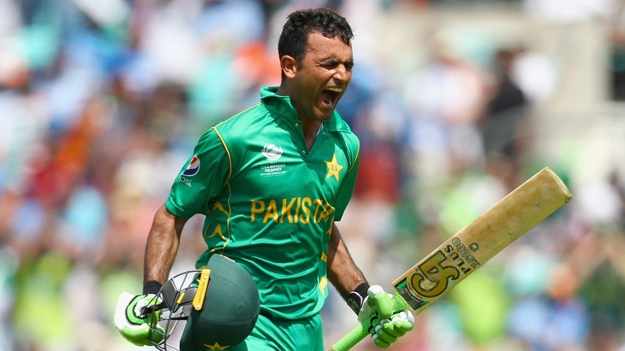 Fakhar Zaman roars after bringing up his maiden ODI century