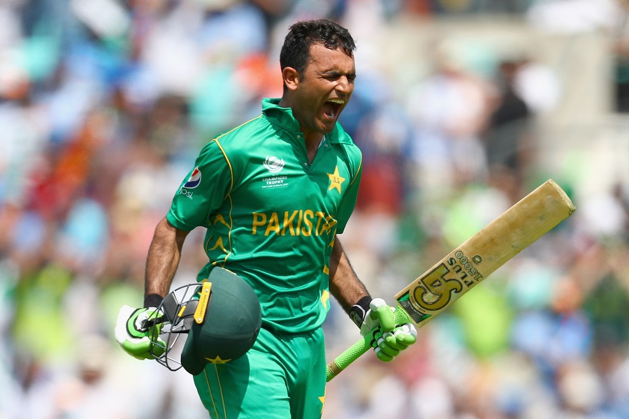 Fakhar Zaman becomes the first Pakistan batsman to score a hundred in the final of an ICC event