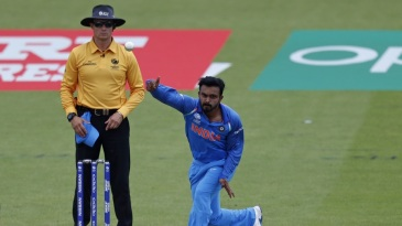 Kedar Jadhav was called on to do a job with the ball again