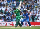 Mohammad Hafeez launches one down the ground, India v Pakistan, Final, Champions Trophy 2017, The Oval, London, June 18, 2017