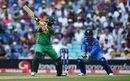 Imad Wasim flays one through the off side, India v Pakistan, Final, Champions Trophy 2017, The Oval, London, June 18, 2017